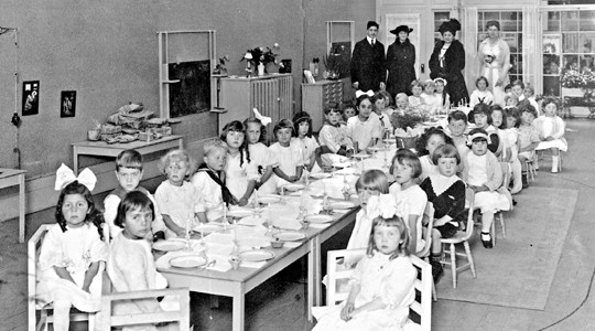 The birth of Montessori schools